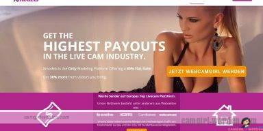 Werde jetzt Camgirl auf XCams - dem europäischen Camnetzwerk!